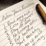 Why New Years resolutions dont work - featured image - written on paper| nextlevelwarrior.com