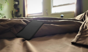 smartphone on bed in the morning | nextlevelwarrior.com