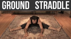 Me in the straddle stretch - mobility - nextlevelwarrior.com
