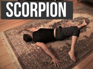 Scorpion stretch - mobility - nextlevelwarrior.com